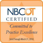 NBCOT Certified bade